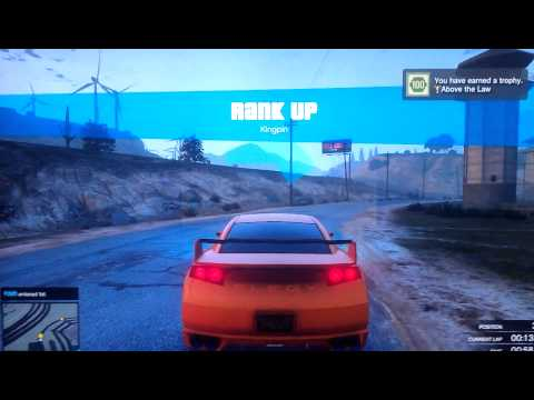 GTA Online :Me Reaching Rank 100 plus Gold Trophy!