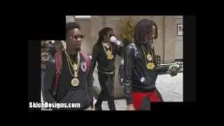 Chief Keef GBE Crew rob Quavo of Migos for his Chain