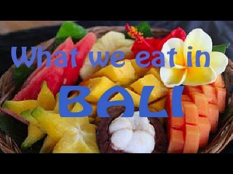 Raw food diet in bali- what we eat