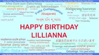 Lillianna   Languages Idiomas - Happy Birthday