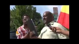 ኢትዮጵያውያን የEPRDF መንግስት ተቃውሞ በWashington DC August 4/2014