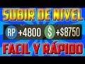 GTA V ONLINE 1.07 y 1.08 || CONSEGUIR PUNTOS RP PARA SUBIR DE NIVEL FÁCILMENTE Y DINERO EN 4 MINUTOS