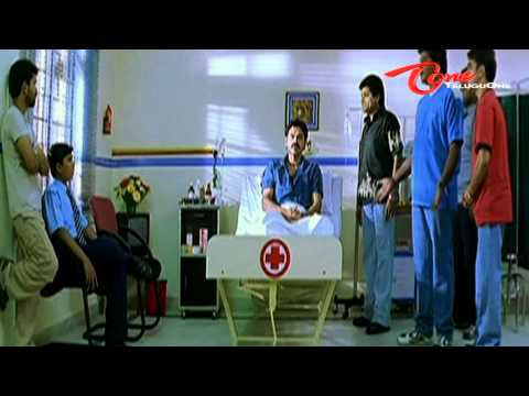 Venkatesh Acts As Gajini - Comedy In Hospital