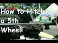 How to Hitch a 5th Wheel Demonstration (Superglide Hitch Demonstration)