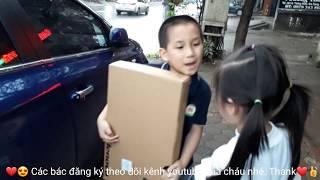 Trung❤Tyt❤bóc tem❤laptop mới♥️funny kids songs♥️video clip♥️nhạc tiếng anh cho bé♥amazing♥discovery