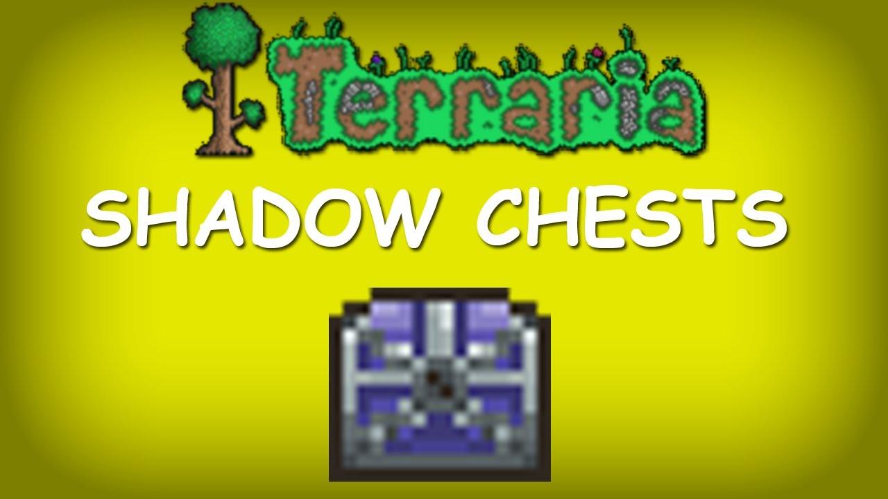 Terraria Shadow Terraria Shadow Chests