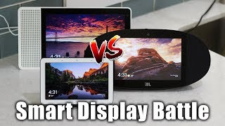 Google Home Hub vs Lenovo Smart Display vs JBL Link View