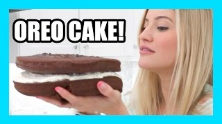How to bake a MASSIVE OREO cake! | iJustine