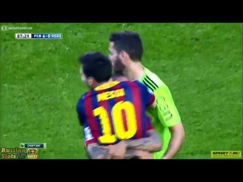 Leo Messi : Meilleur buteur du Barça (371 buts)