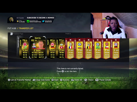 SELL ALL YOUR PLAYERS FOR MAXIMUM PRICE !!! EA NEW TRANSFER MARKET ALTERNATIVE - FIFA 15