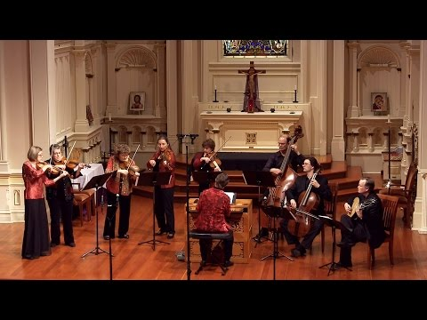 Air on the G String (3rd Orchestral Suite, BWV 1068) J. S. Bach, original instruments