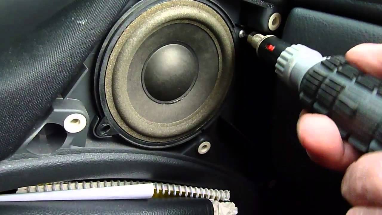 How To Fit New Car Speakers Youtube