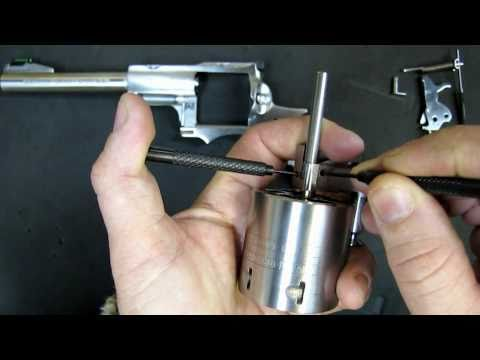 Crane Cylinder Seperation & Disassembly for the Ruger Super Redhawk