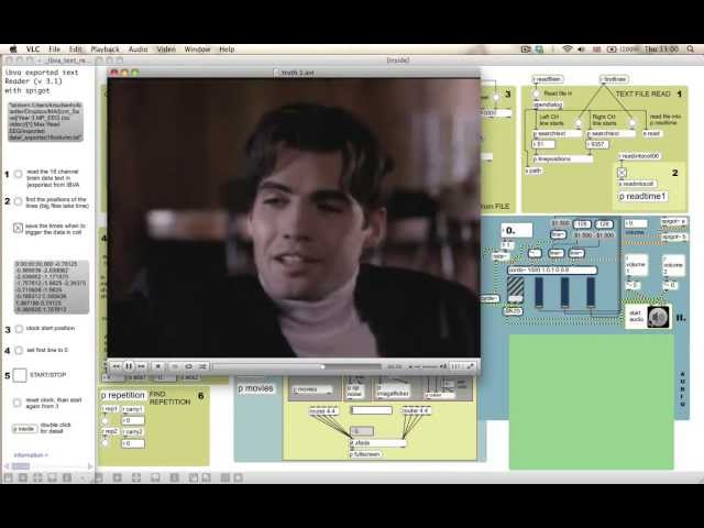 truth business - experimental electronica improvisation with max/MSP and Jitter (Twin Peaks)