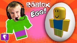 Giant ROBLOX Surprise Egg Adventure with Gaming
