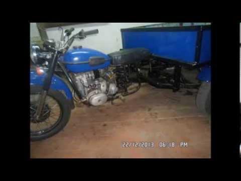 Изготовление грузового мотоцикла Урал
