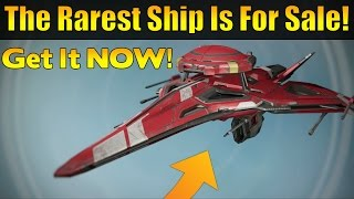 Destiny - Extremely Rare Ship Is For Sale! Get It Now (AFv2 Octavian)