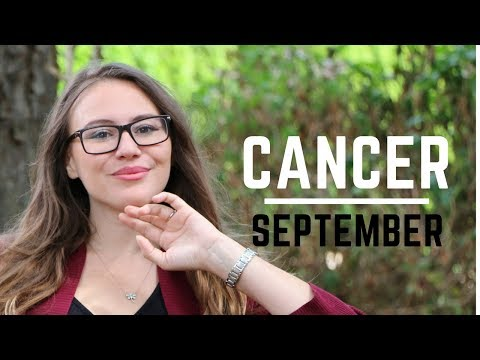 CANCER September 2017 Horoscope. A Door to Self Made Wealth!