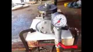 "Conversione motore 4T a 2T ""Modifica Testata"" / Convert 4 stroke to steam engine ""DIY HEAD"""