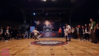 Lil Di & Lamut | HIP HOP INTERNATIONAL  Russia 2016 All Styles 2x2   1/4