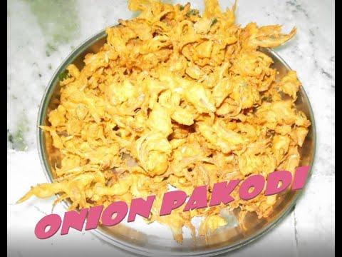 ONION PAKODI EASY PREPARATION