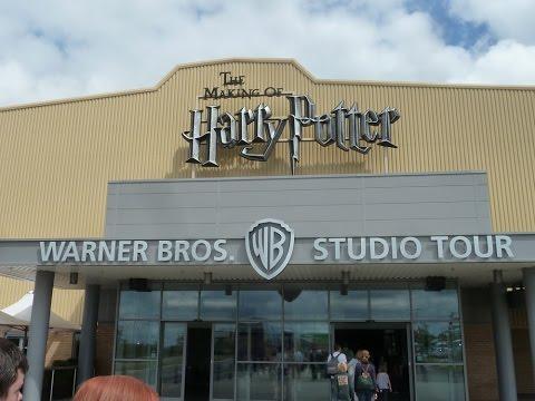 The Harry Potter Studio Tour - Warner Bros. Studio Tour London - FULL EXPERIENCE