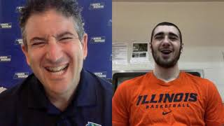 Giorgi Bezhanishvili on Illinois' resurgence and his summer plans