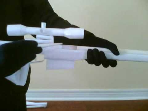 Paper Arctic Warfare Sniper Rifle