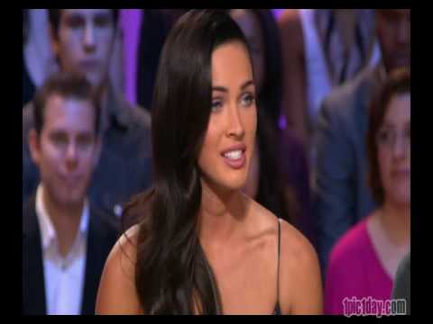 Megan Fox - Transformers 2 promo on French tv - 12.06.09