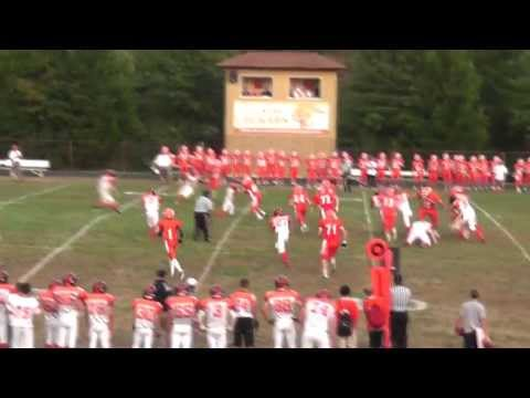 Marc Badger - Fallston High School - Senior season football highlights 2012