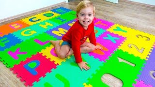 ABC Song Learn English Alphabet for Children l Nursery Rhymes & Kids Songs