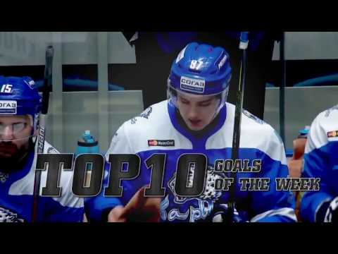 KHL Top 10 Goals for Week 23