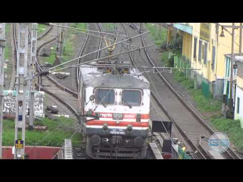 Wap-5 Doing Shunting At Dum Dum Jn video