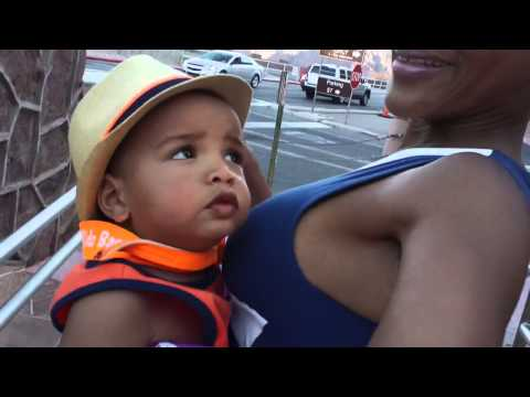 17 month old baby Emperor see Helicopters @ Hoover Dam