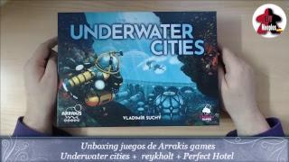 Unboxing  Underwater cityes + Rekhot + perfect hotel