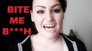 Diy Fake Vampire Fangs Tutorial!