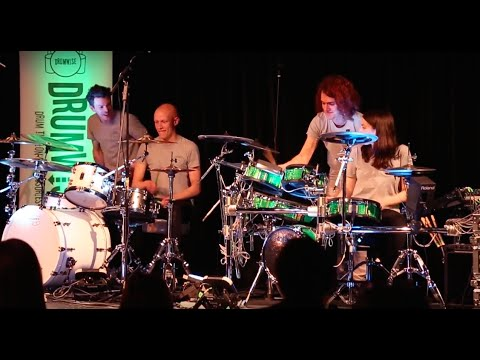 The DrumWise Annual Student Concert | Teachers Performance 2016 - Wipeout