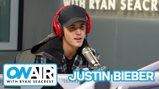Justin Bieber Talks Making New Album | On Air with Ryan Seacrest