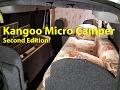 Renault Kangoo Micro Camper #2 VAN TOUR - BeyondTheVan