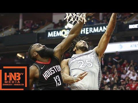 Houston Rockets vs Minnesota Timberwolves Full Game Highlights / Game 2 / 2018 NBA Playoffs MP3