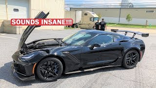 INTRODUCING THE WORLD'S FIRST BURBLE TUNED ZR1!!! *LOUDEST ZR1 ON EARTH!*