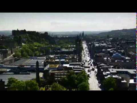 Scottish Places: Visit Scotland Advert Edinburgh Guide