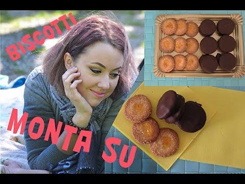 Итальянское нежное печенье Monta Sù. Очень редкий рецепт