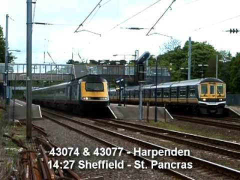 A selection of old videos from 2005 showing the Midland Mainline (mainly at Harpenden) featuring HSTs, Class 222s, 319s, 60s & 37s.