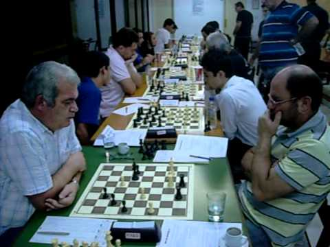 Nicosia Chess Championship 2011- Round 1 (October 3rd 2011)