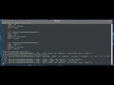 Sistemas Distribuídos - MongoDB