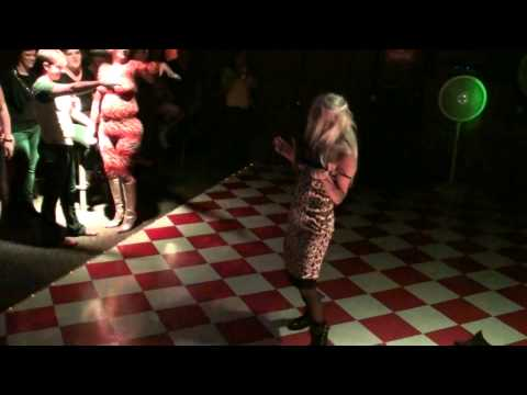 Twiggy Pop Performs Courtney Love Number at the Zodiac Revue Show August 2014