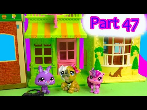 LPS Flashback Petey's Coffee Mommies Part 47 Littlest Pet Shop Series Video Movie LPS Mom Babies