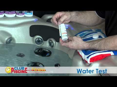 Water testing - Spas