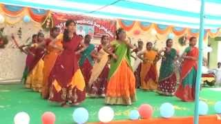 A MUDIGONDA SCHOOL SWAGATAM DANCE